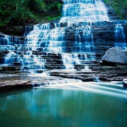 Пазл онлайн: Albion Falls, Онтарио
