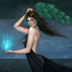 Пазл онлайн: I bring you blue light / Я приношу Вам синий свет