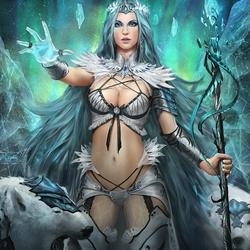 Пазл онлайн: Ледяная королева