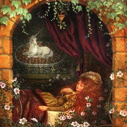 Пазл онлайн: Спящая красавица