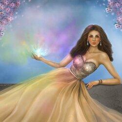 Пазл онлайн: Я приношу Вам радужный свет