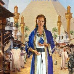 Пазл онлайн: Египетский полдень