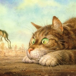 Пазл онлайн: Невиданный зверь