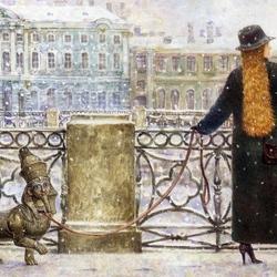 Пазл онлайн: Питерская аллегория