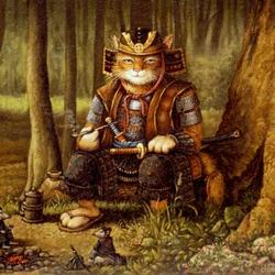 Пазл онлайн: Путь самурая
