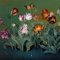 Пазл онлайн: Английские тюльпаны