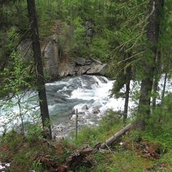 Пазл онлайн: Река Кураган
