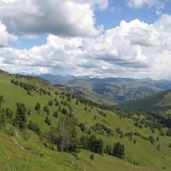 Пазл онлайн: Алтайские горы