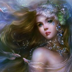 Пазл онлайн: Дочь морского царя