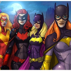 Пазл онлайн: Девушки Бэтмена
