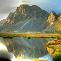 Пазл онлайн: Исландский ландшафт