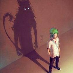Пазл онлайн: Внутренний зверь