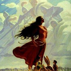 Пазл онлайн: Небесные воины