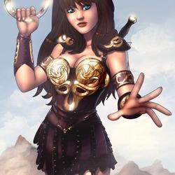 Пазл онлайн: Зена — королева воинов