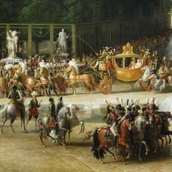 Пазл онлайн: Кортеж Наполеона