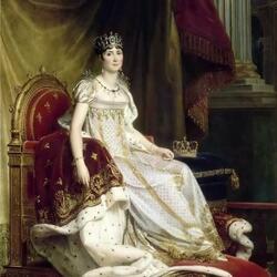 Пазл онлайн: Жозефина де Богарне