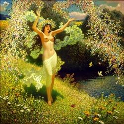 Пазл онлайн: Пора летнего цветения