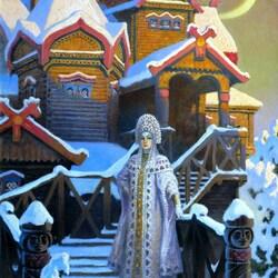 Пазл онлайн: Терем царевны зимы