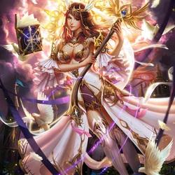 Пазл онлайн: Богиня исцеления