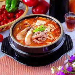 Пазл онлайн: Супчик с морепродуктами