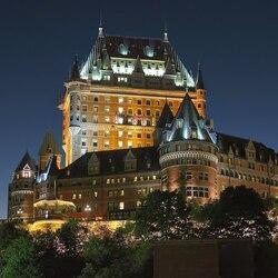 Пазл онлайн: Замок Фронтенак, Квебек