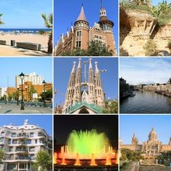 Пазл онлайн: Барселона