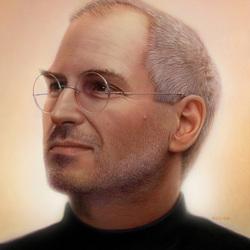 Пазл онлайн: Стив Джобс