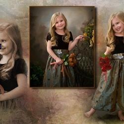Пазл онлайн: Юная красавица