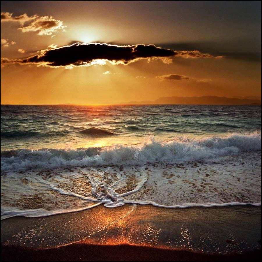 Цитаты про закаты на море