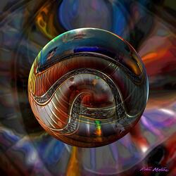 Пазл онлайн: Спирали
