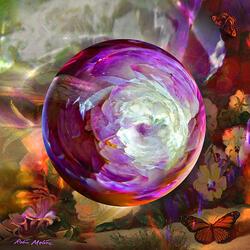 Пазл онлайн: Сиреневая фантазия
