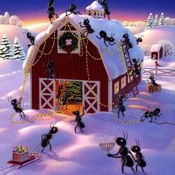Пазл онлайн: Праздничные хлопоты