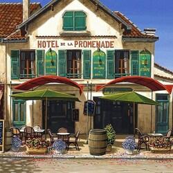Пазл онлайн: Старый отель
