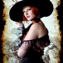Пазл онлайн: Юная ведьмочка