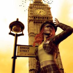 Пазл онлайн: Солнечный Лондон