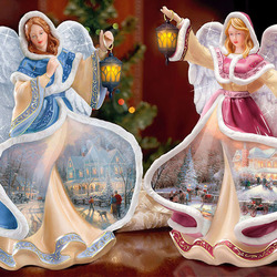 Пазл онлайн: Рождественские ангелы