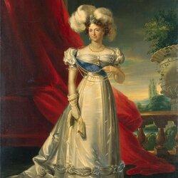 Пазл онлайн: Портрет императрицы Марии Фёдоровны