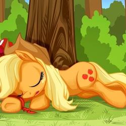 Пазл онлайн: Спящая пони