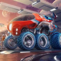 Пазл онлайн: Машина будущего