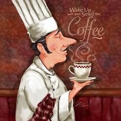 Пазл онлайн: Проснуться и почувствовать аромат кофе