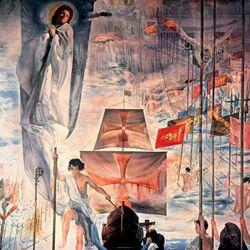 Пазл онлайн: Открытие Америки усилием сна Христофора Колумба