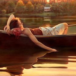Пазл онлайн: Вода, которая спит