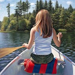 Пазл онлайн: Обнаруженное озеро