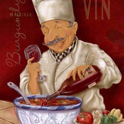 Пазл онлайн: Бургундское вино