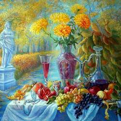 Пазл онлайн: Праздник золотой осени в Летнем саду