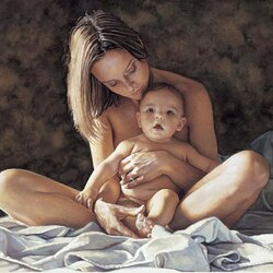 Пазл онлайн: Материнская гордость