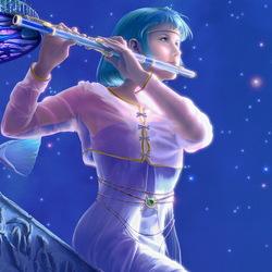 Пазл онлайн: Флейта