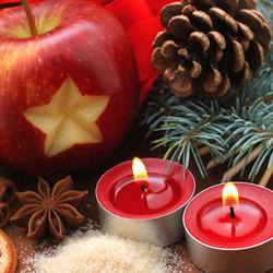 Пазл онлайн: Праздничный натюрморт