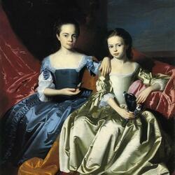 Пазл онлайн: Принцессы Мэри и Элизабет