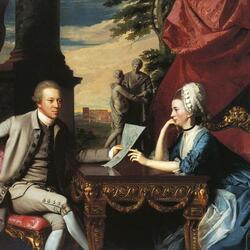 Пазл онлайн: Мистер и миссис Ральф Изард